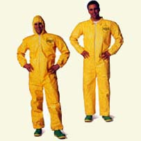 Dupont Tychem Poly-Coated Tyvek Suits