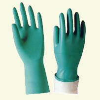 Seattle Glove Splash Resistant Green Nitrile Gloves