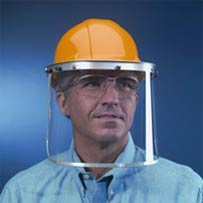 Universal Face Shield for Hard Hats