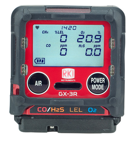 RKI GX-3R Four Gas Confined Space Meter Sale